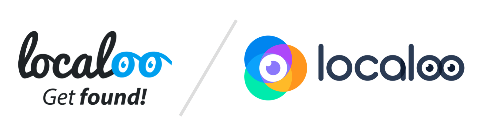 before after localoo logo