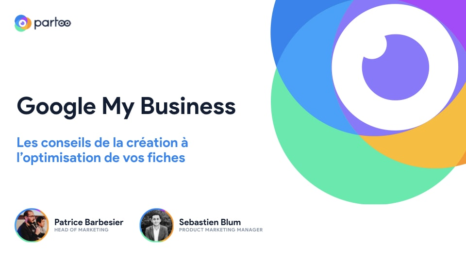 Webinar Partoo Google My Business