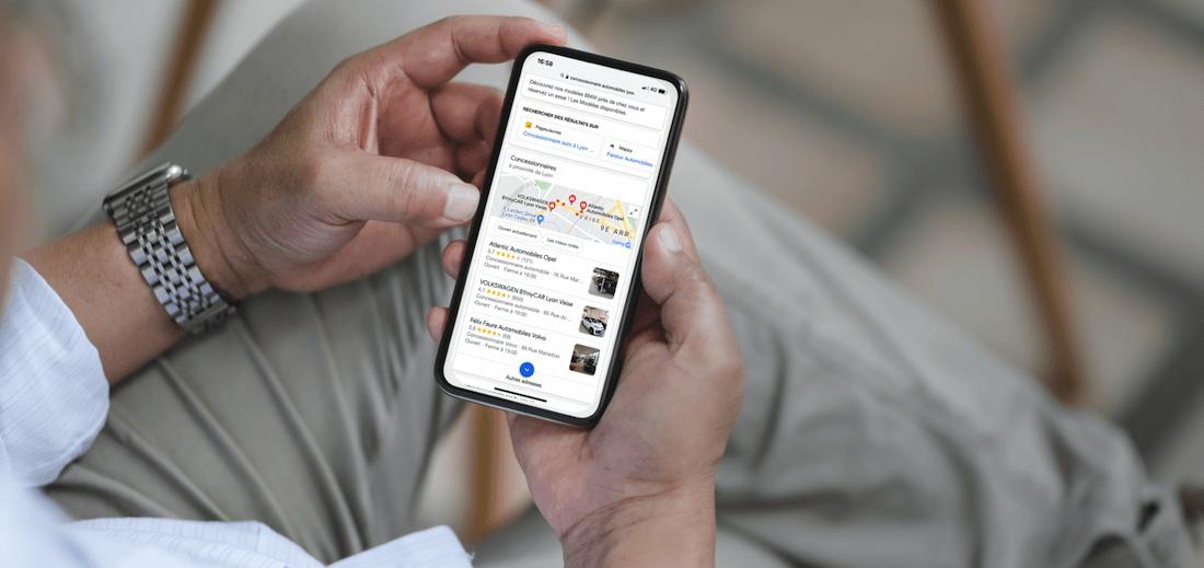Google My Business pour les concessionnaires
