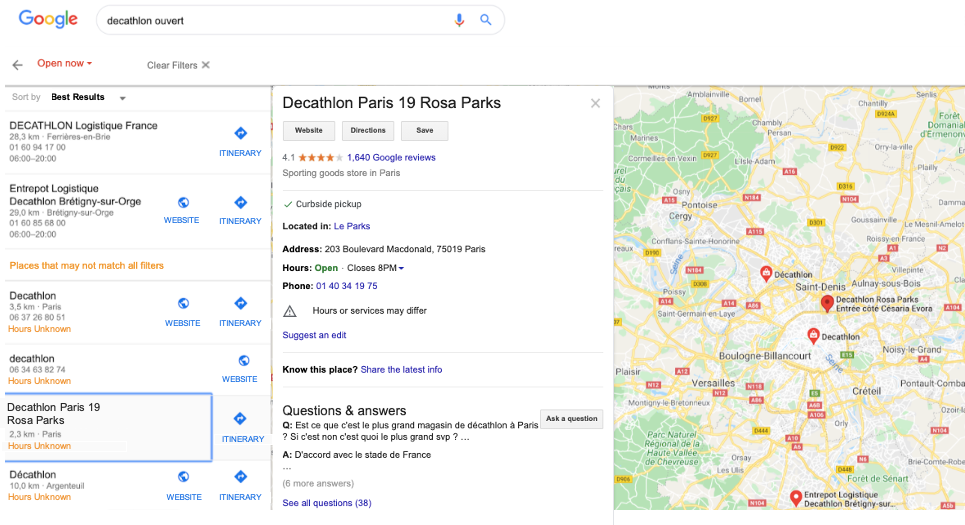 Decathlon listings with missing information appear higher on SEO