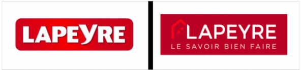 lapeyre logo difference