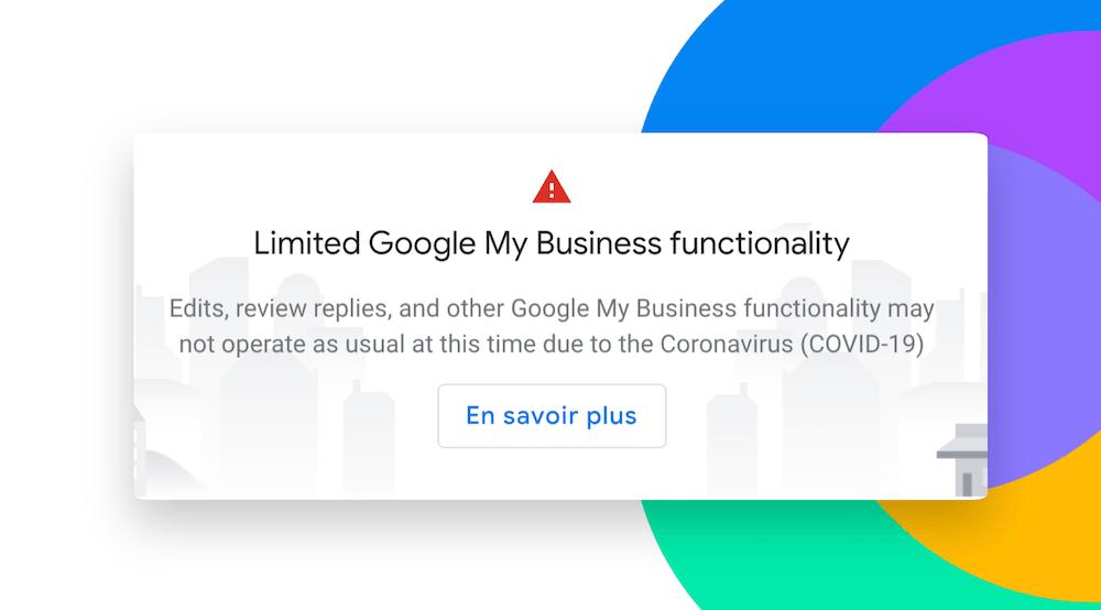 message google my business