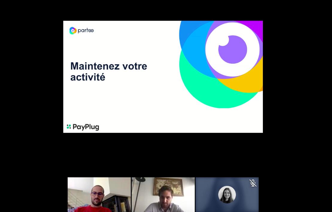 Webinar Partoo & Payplug pour maintenir vos ventes sur Google My Business