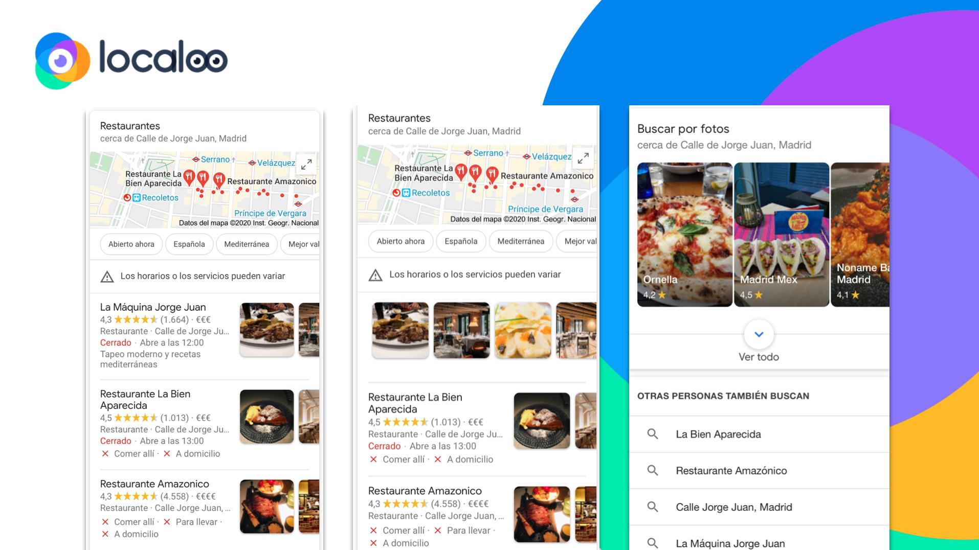google my business adapta sus búsquedas para hacerlas mucho más visuales