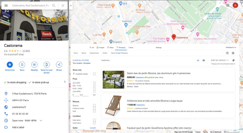 Local surfaces program Google