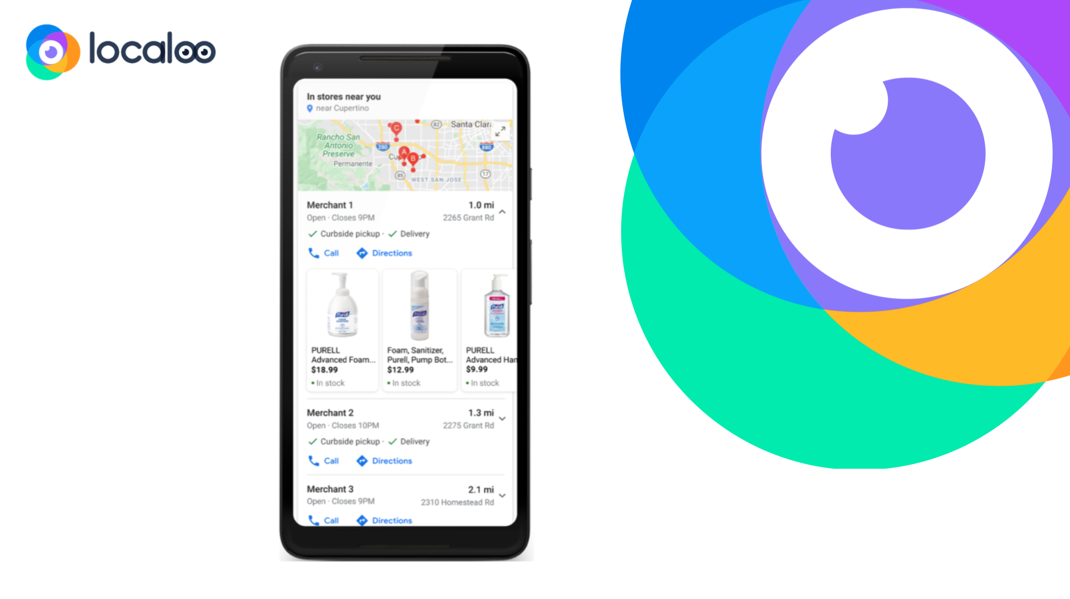 Programa Google de plataforma Locales Google entre Google My Business y Google Shopping