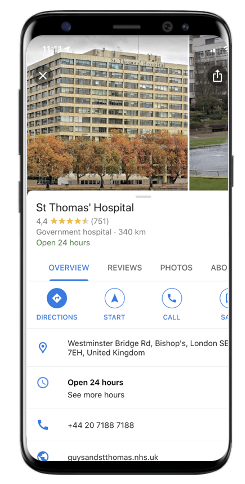 local SEO in healthcare industry