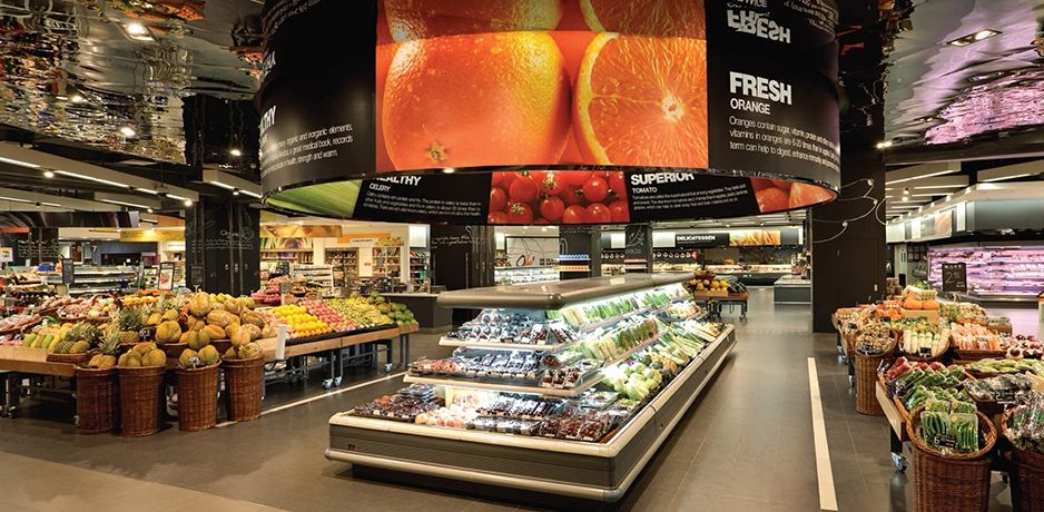 Supermarket stores