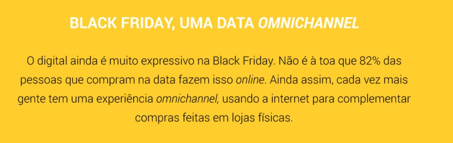 black friday omnicanal