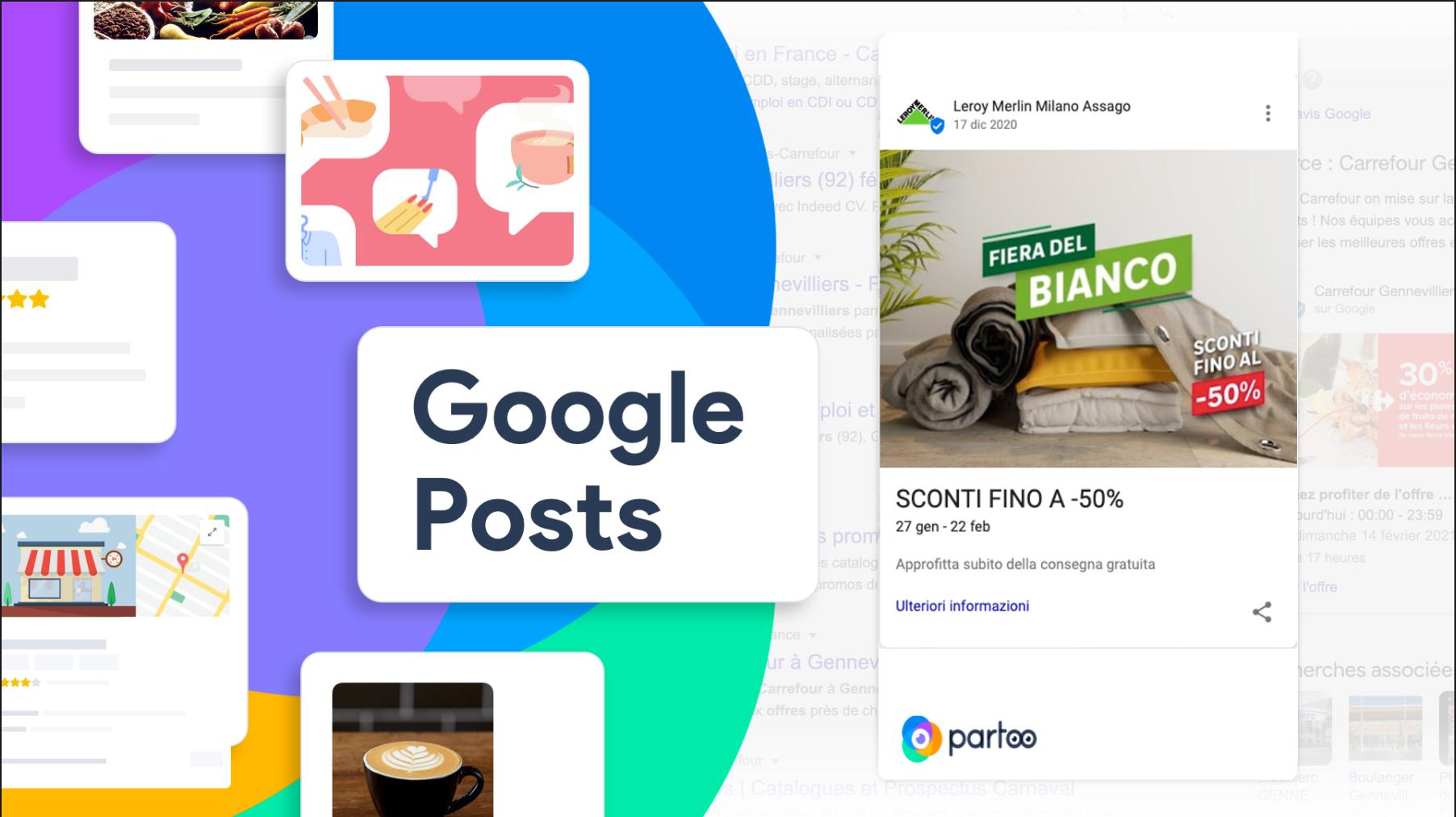 Google Post API