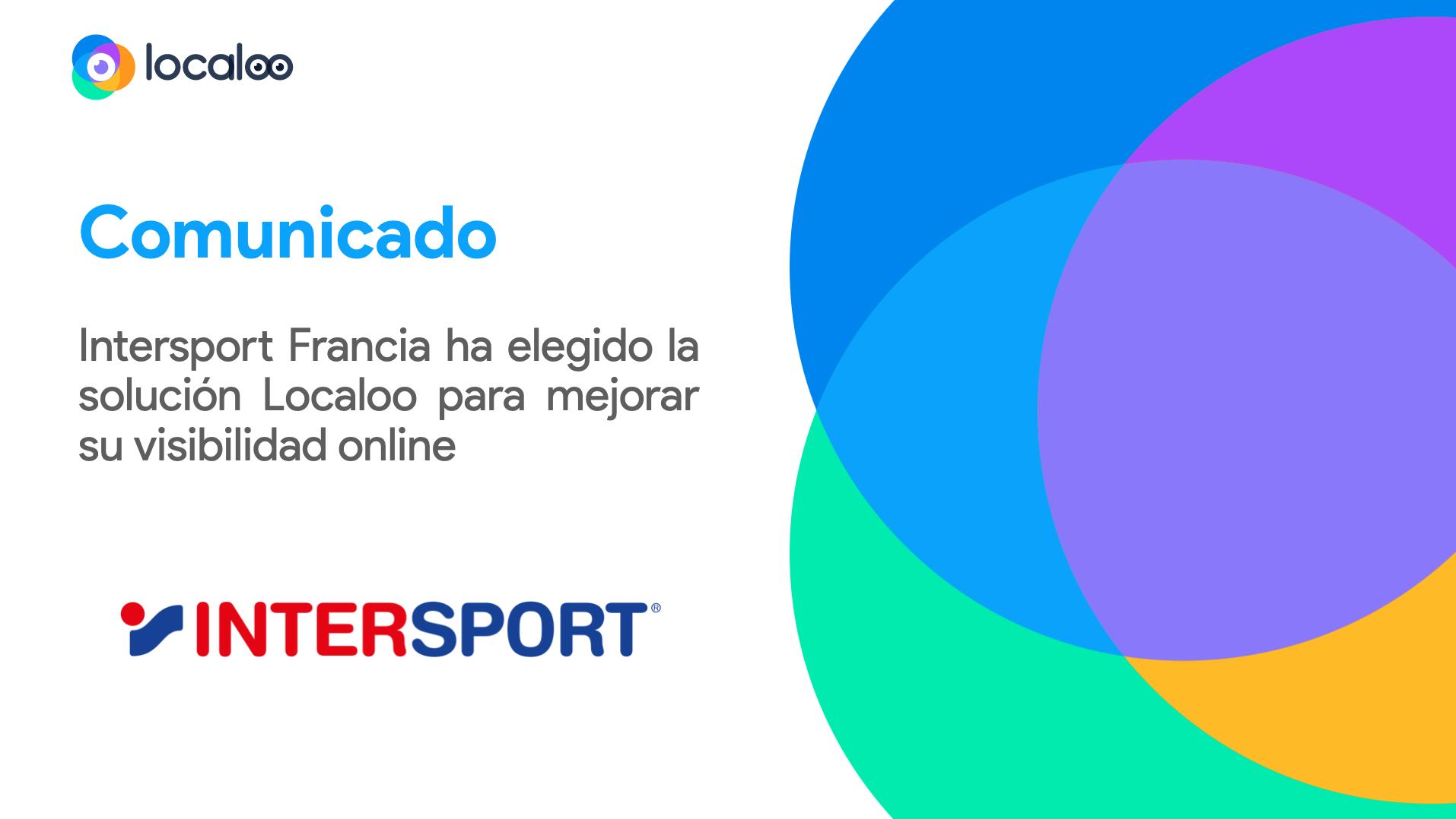 comunicado intersport francia confía en localoo para desarrollar su estrategia digital