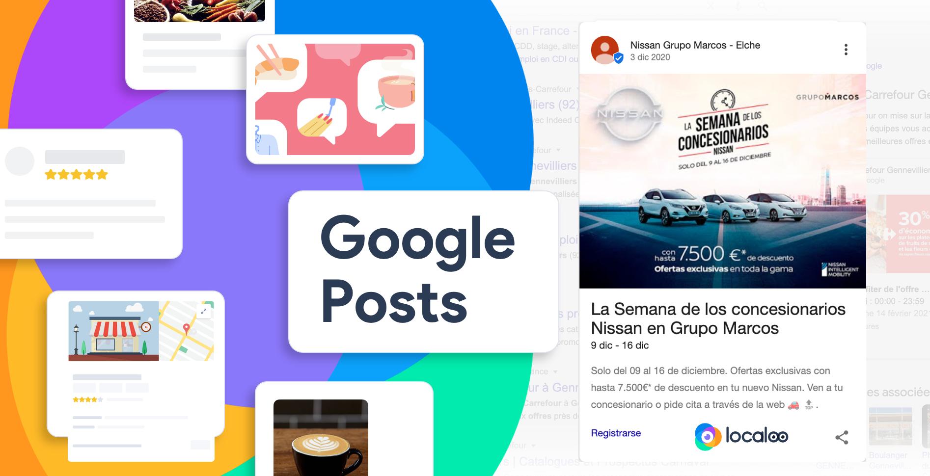 Google Posts disponibles por API para las empresas