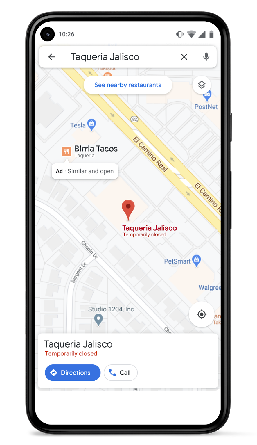 Google Ads Local commerce similaire