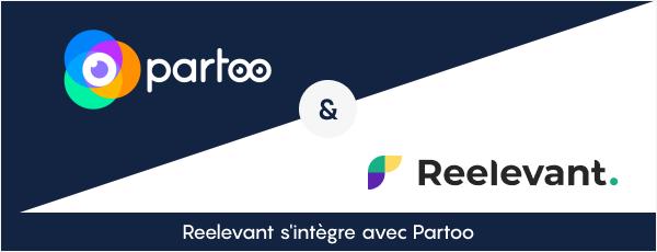 Nouveau Partenariat entre Partoo et Reelevant