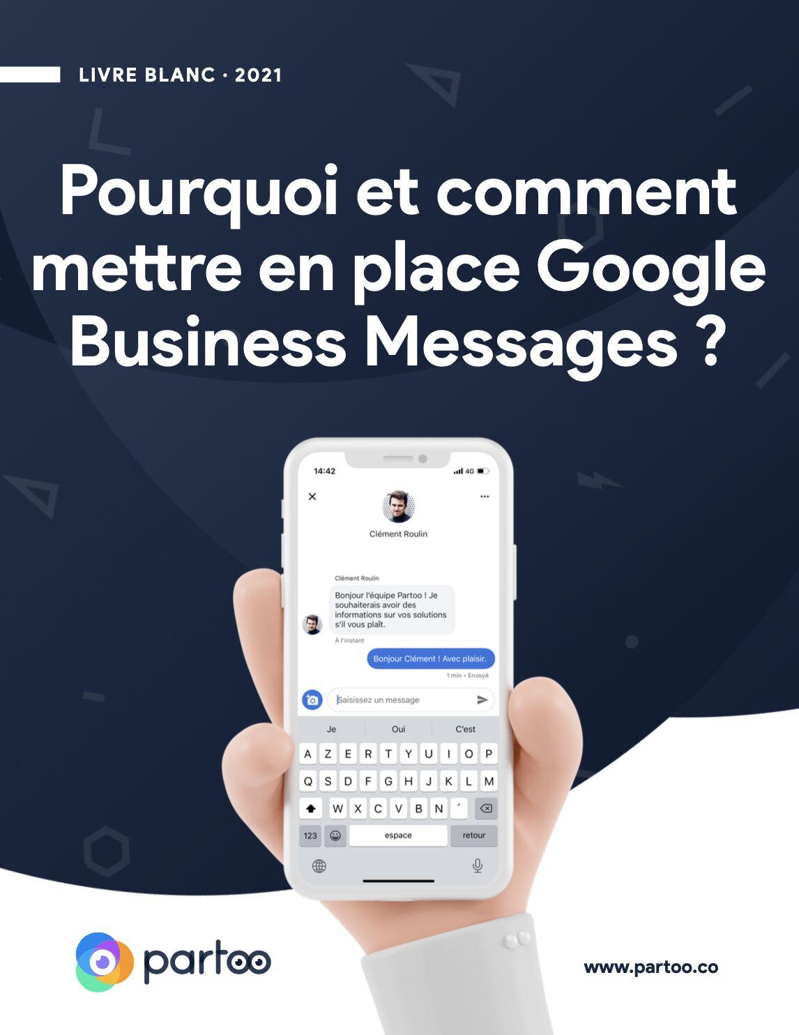 Messaging Google Livre Blanc