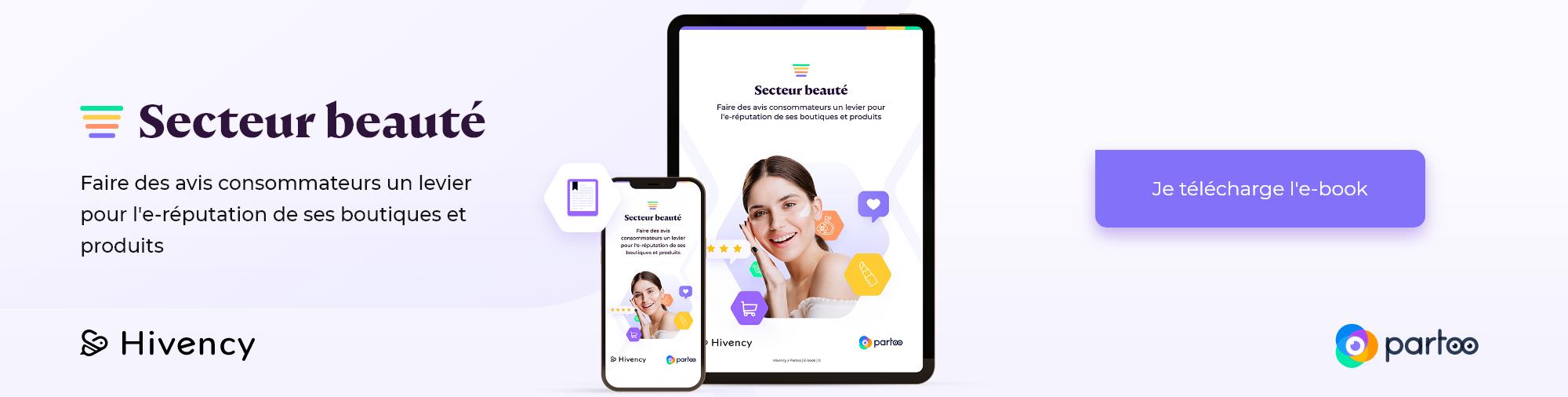 Hivency et Partoo présentent l'ebook e-réputation pour la beauté